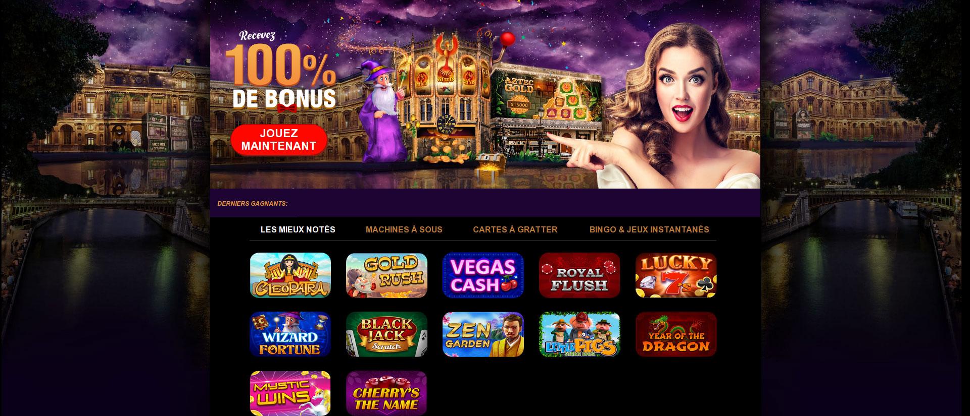 Noir casino, une renommé pas aussi sombre qu'on le pense !