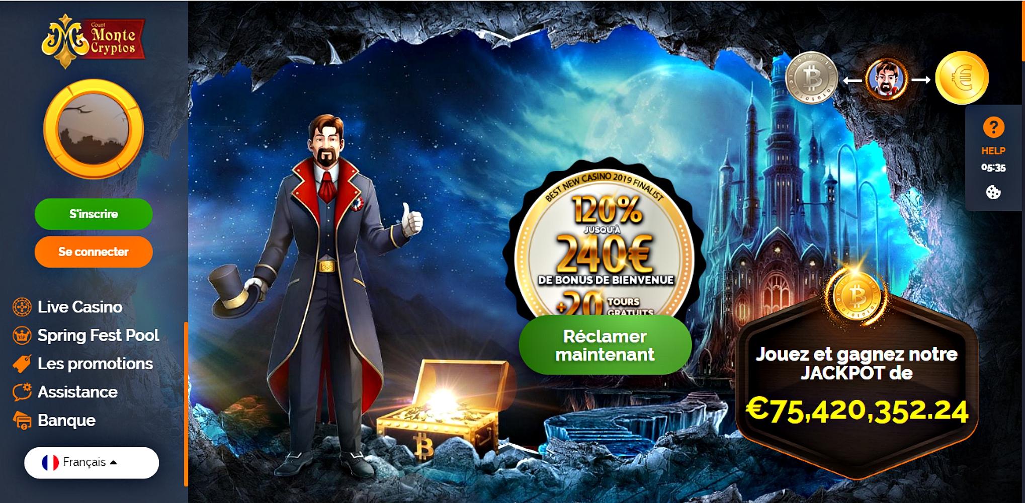 Notre sincère avis pour vous faire découvrir Montecrypto casino